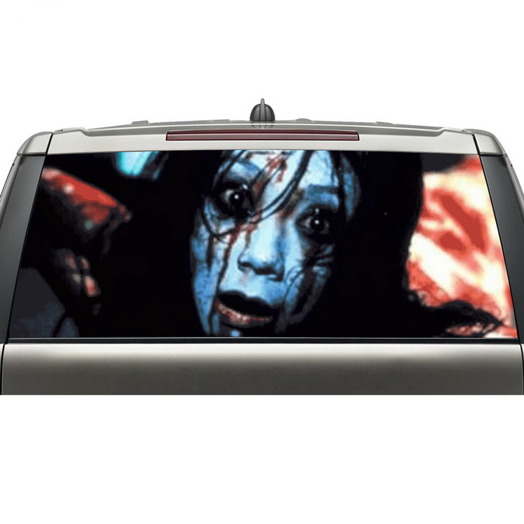 2016 Aliexpress Popular Items Custom Car Rear Window