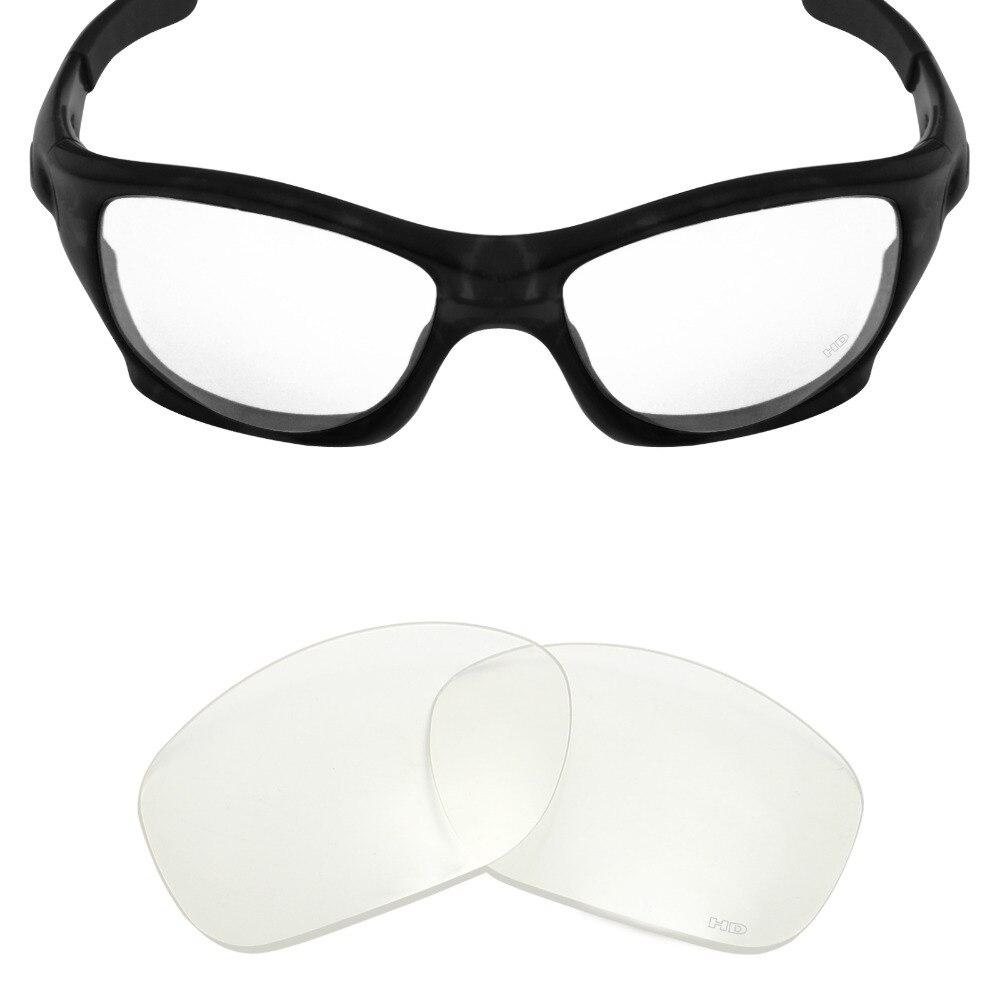 Mryok + сопротивляться морской Замена Оптические стёкла для Oakley питбуль Солнцезащитные очки для женщин HD Clear
