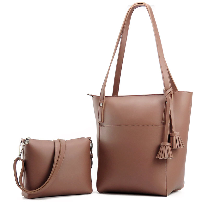 MS HEDY New tassel big shoulder bags women crossbody bag female designer set handbags high quality woman totes