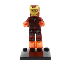 Super Hero Science Fiction Iron Armor Man 3 Marvel's The Avengers Building Blocks Bricks Children Toys Compatible with Legoe