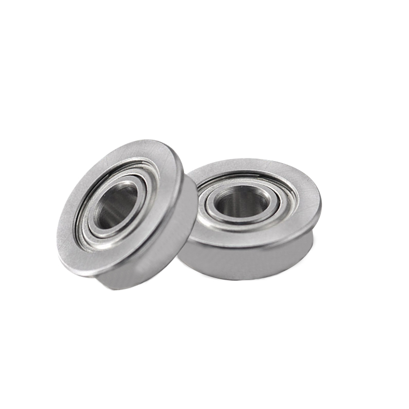 1 10Pcs F623ZZ 3d printer flange bushing ball bearings 3x10x4 mm Mini Metal Double Shielded Flanged Ball Bearings For 3D printer in 3D Printer Parts Accessories from Computer Office