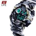 30M Waterproof Mens Sports Watches Relogio Masculino 2016 Hot Men Silicone Sport Watch Reloj S Shockproof Electronic Wristwatch