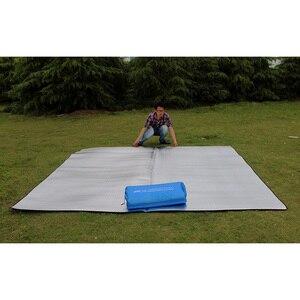 Ультралегкий водонепроницаемый коврик для кемпинга, одеяло для пикника, пляжный матрас, коврик из алюминиевой фольги, вспененный коврик из ...