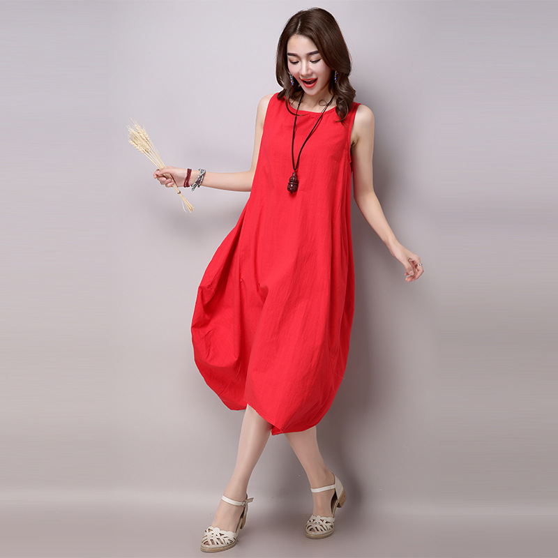 new summer cotton/linen womens dresses maternity dresses pregnancy dresses maternity clothing summer clothing 16485