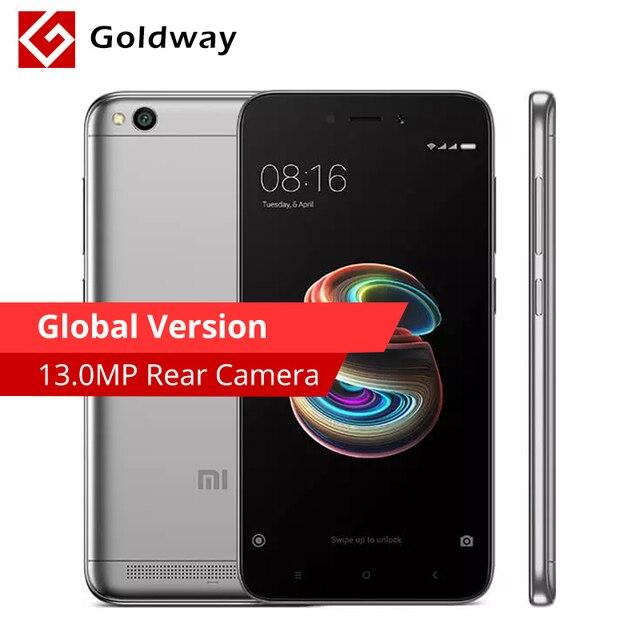 """Глобальная версия Оригинальный Xiaomi Redmi 5A 5 2 ГБ Оперативная память 16 ГБ Встроенная память мобильного телефона Snapdragon 425 4 ядра 5.0 """"13MP Камера 3000 мАч"""