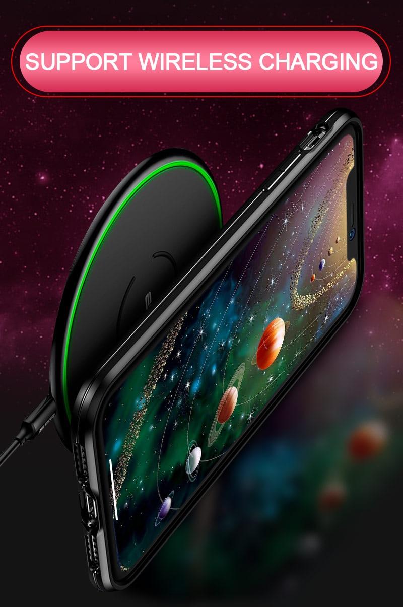 Luxury Glass Case For Xiaomi Redmi Note 6 5 Pro 4X 6 Pro Case For Xiaomi Mi A2 Lite Star Space Case Silicone Coque Artisome (10)