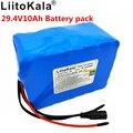 Liitokala 24 литиевый V батарея 24 V батарея большой емкости литий-ионный аккумулятор 10ah bms разрядка 15A 7 S 300 W мощность