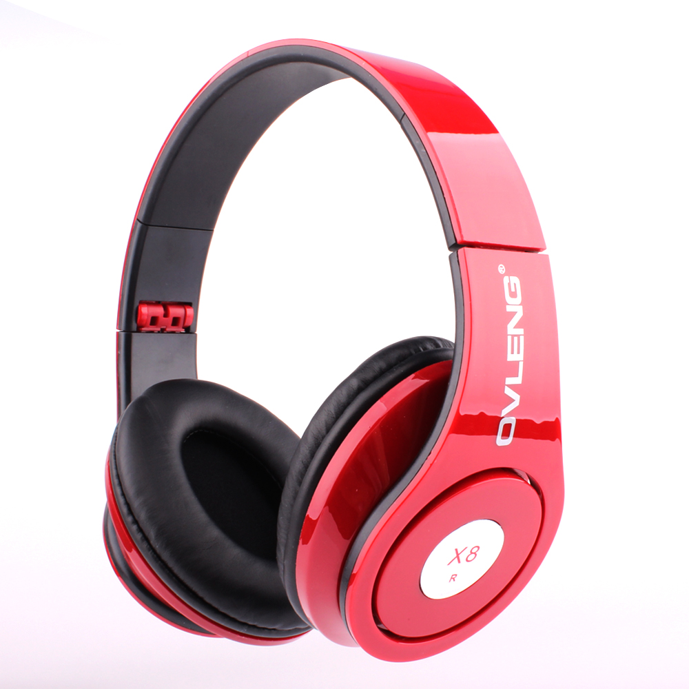 Desxz X8 Headsets Headphone Folding Portable Game Stereo with MIC 3 5mm Audio Cable for Iphone
