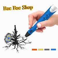 Wercan High Quality 3D Printing Pen With Free Filament 3D Pen Best Gift For Kids Printer