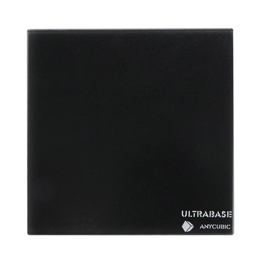 220x220 12V heatbed Ultrabase 3D printer Platform Build Surface Glass Plate for anycubic i3 mega MK2
