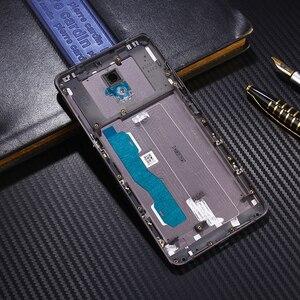 Image 3 - Étui de métal dorigine officielle pour Lenovo Vibe P2 P2c72 P2a42 pièces de remplacement du boîtier de la batterie arrière