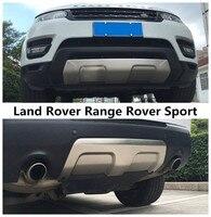 Для Land Rover Range Rover Sport 2014 спереди и сзади бампер диффузор гвардии опорная плита Высокое качество Нержавеющаясталь автомобильные аксессуары