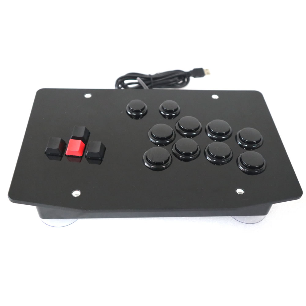 RAC J500K Keyboard Arcade Fight Stick Game Controller Joystick for PC USB