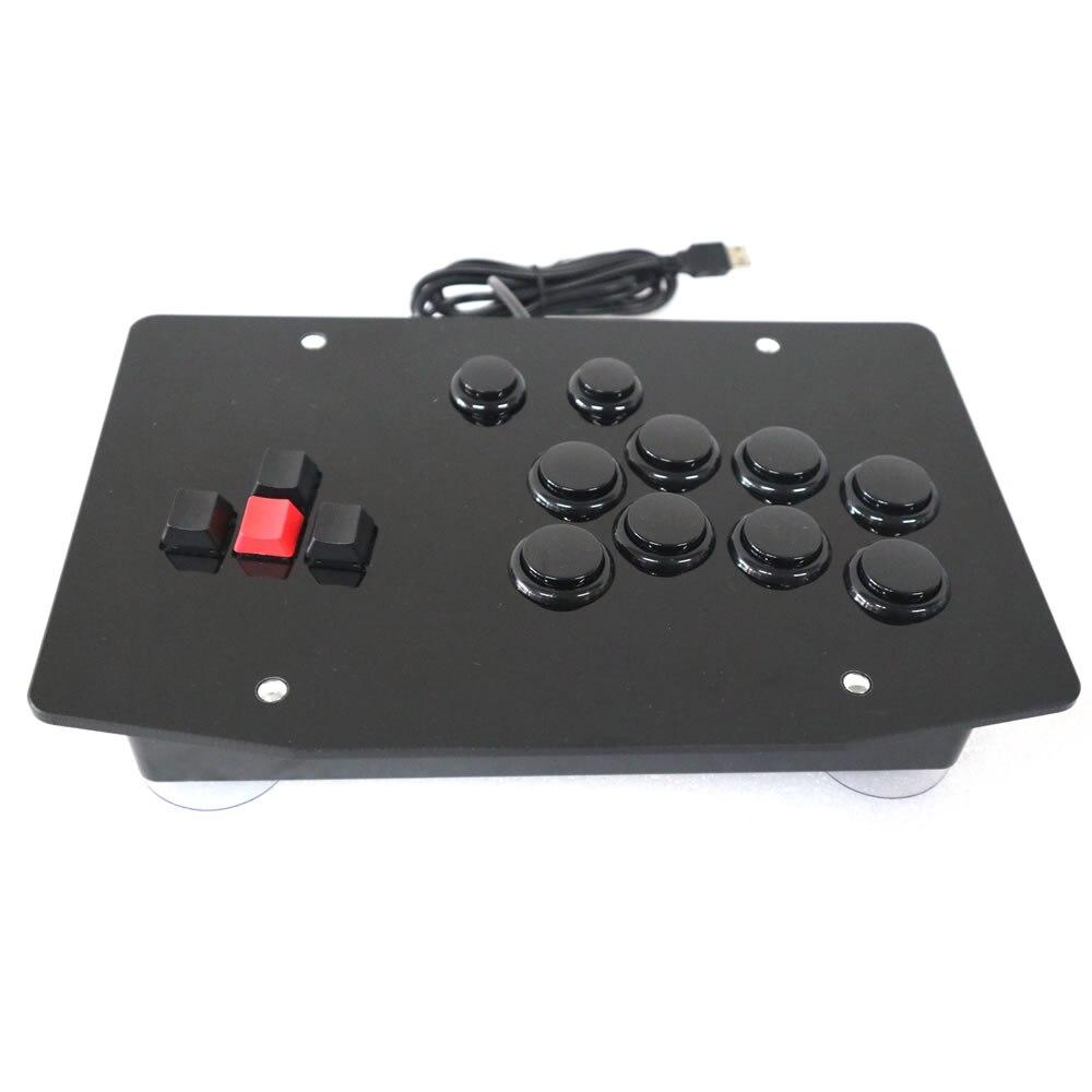 RAC J500K Tastatur Arcade Stick Kampf Spiel Controller Joystick für PC USB-in Steuerknüppel aus Verbraucherelektronik bei  Gruppe 1