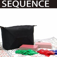 Sequence Game Suitable For 2 12 Players Family Game Board Game