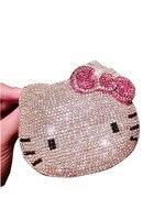 calculator paste stickers diamond rhinestone Hello Kitty crystal gem computer gifts