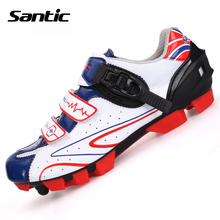 Santic MTB Cycling Shoes zapatillas ciclismo Bicycle Sports Shoes Cleated Shoes Men Cycling Shoes S12014W