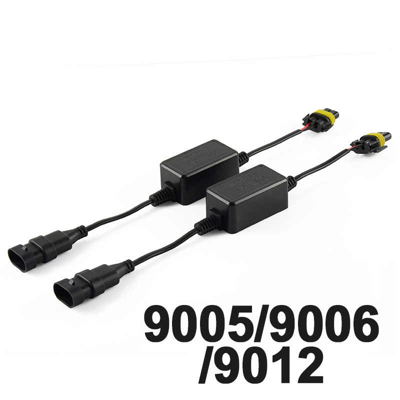 NAO H7 led CANBUS H4 LED Super Decoder H11 9005 9006 HB3 HB4 H1 H3 Car Warning Canceller Error Capacitor for led headlight