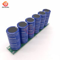 6PCS/Set 2.85V 700F Super Farad Capacitor with Protection Board 16V 116F Car vehicle Ultracapacitor W/ Protection supercapacitor