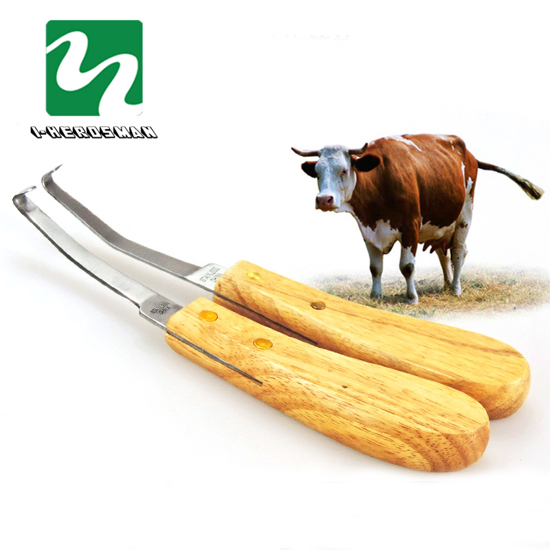 cattle horse hoof knife shears Right handed double edge veterinary sheep goat pig castration