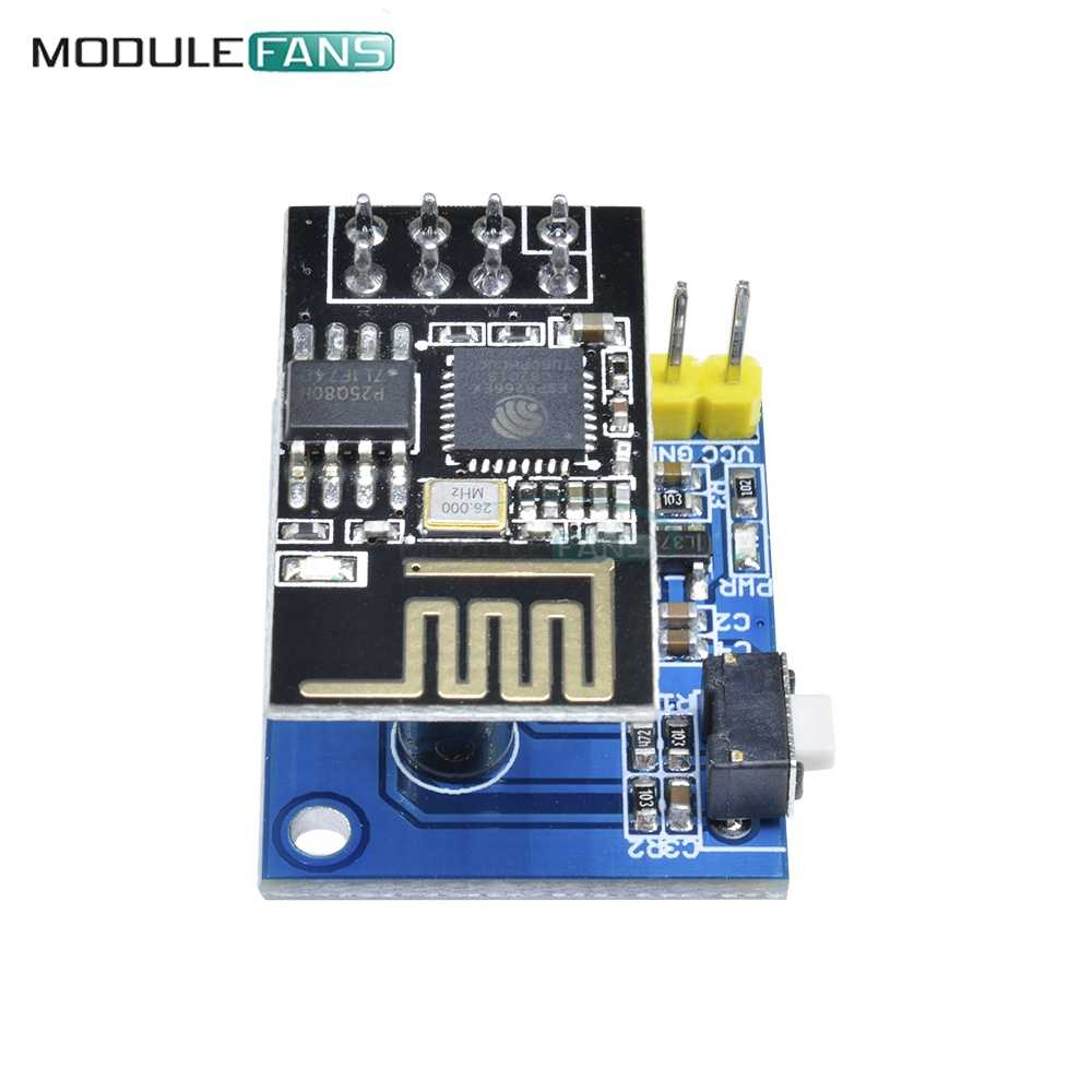 ESP8266 ESP-01//01S DS18B20 Temperature Sensor WiFi Adapter Board Wireless Module