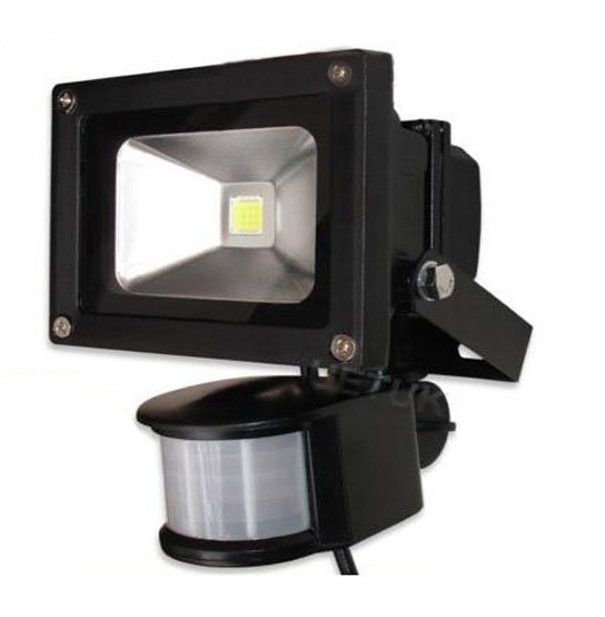 AC 85-265V 10W 20W 30W 50W 70W 100W PIR LED Floodlight Outdoor LED Flood light lampe med bevægelsesdetektiv Sensor spot