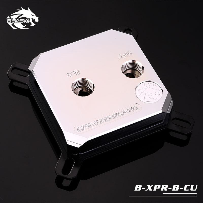 Bykski B-XPR-B-CU, Copper Body Intel CPU Water Block, 2018 Style, For Intel Lga115x/2011 цена 2017