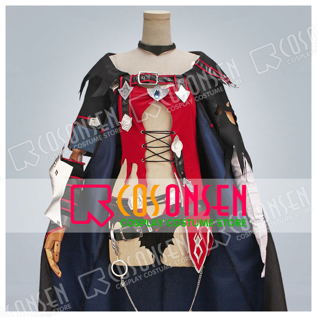 Cosplayonsen Tales Of Berseria Velvet Crowe Sexy Dress Cosplay