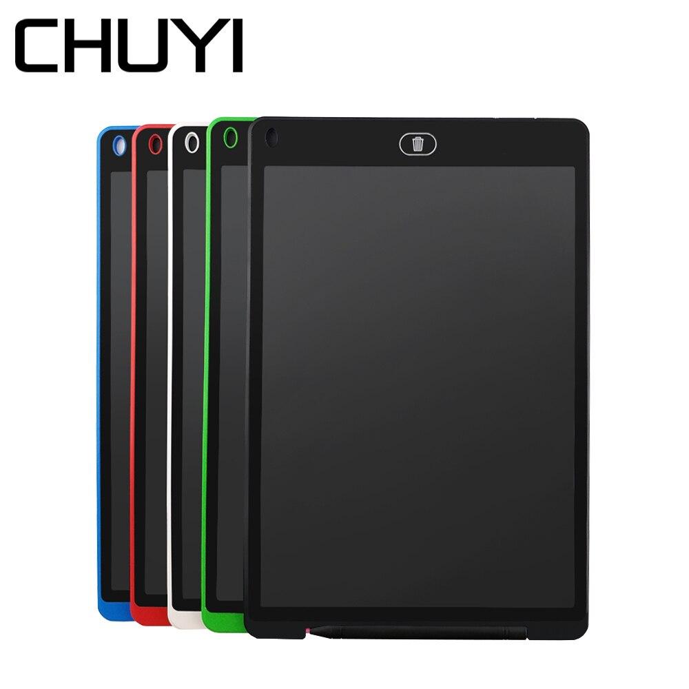 CHUYI 12 Inch LCD Writing Tablet Digital Handwriting Pad Electronic Drawing Tablet Bulletin Memo Board Kids Mini Art Notepads