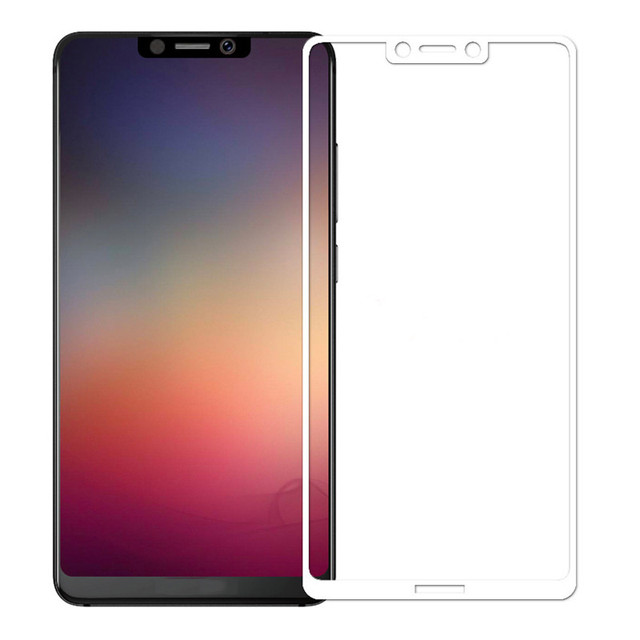 For Sharp Aquos S3 Full cover Tempered Glass Screen Protector Film Protection Full Body Coverage Phone Glass 9H 2.5D Black White