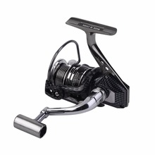 Yumoshi BA1000-7000 Super Lightweight Spinning Reel High Speed 13+1 Full Metal Fishing Reels With Fishing Line Aluminum Alloy