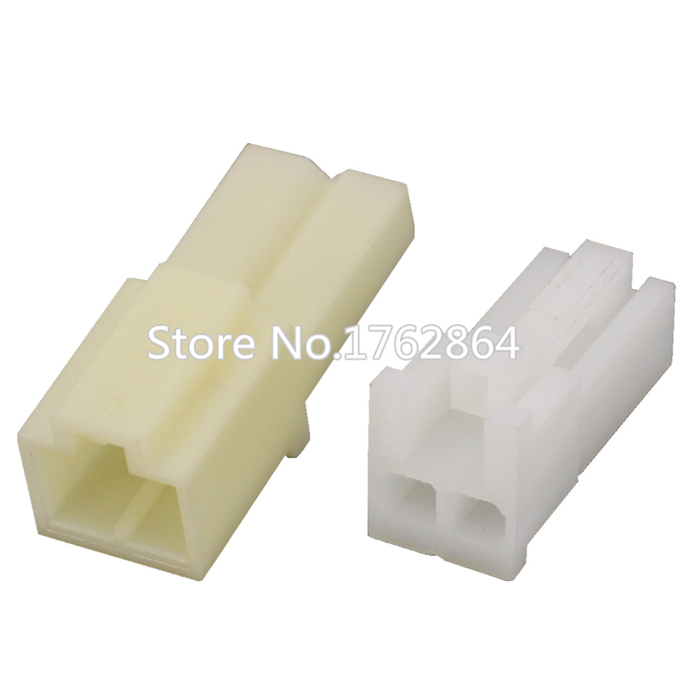 2 Pin 2mm Female Male High Quality Auto Electrical Connector Plastic DJ3021 2 11 21 2P in Connectors from Lights Lighting