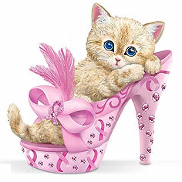 5d Cute kitty Diy Diamant Malerei High heels katzen Kreuzstich Landschaft Voller Diamant-stickerei Strass Malerei