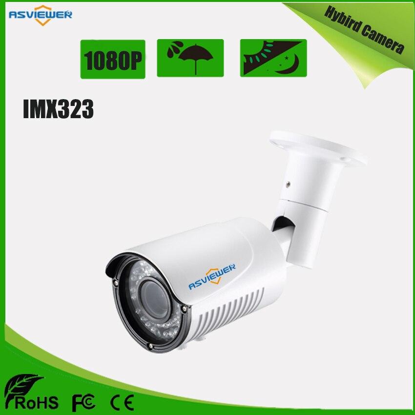 2MP/1080P Sony IMX323 Hybird Camera Support AHD/CVI/TVI/CVBS mode Waterproof 40m IR distance AS-MHD8405R42MP/1080P Sony IMX323 Hybird Camera Support AHD/CVI/TVI/CVBS mode Waterproof 40m IR distance AS-MHD8405R4