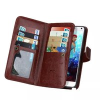 BRG 2 In 1 Detachable Magnetic PU Wallet Leather Case For Samsung Galaxy S4 S5 Note