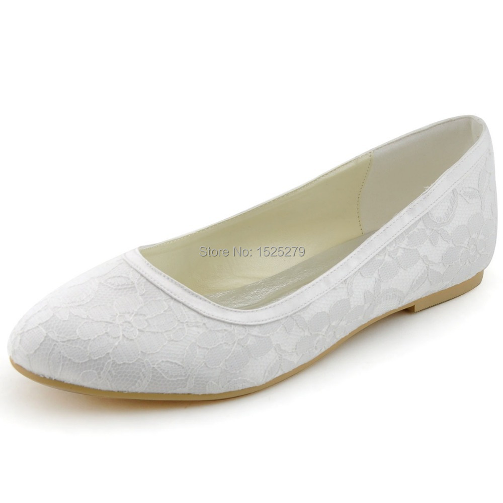 Satin And Lace Bridal Shoes Vintage
