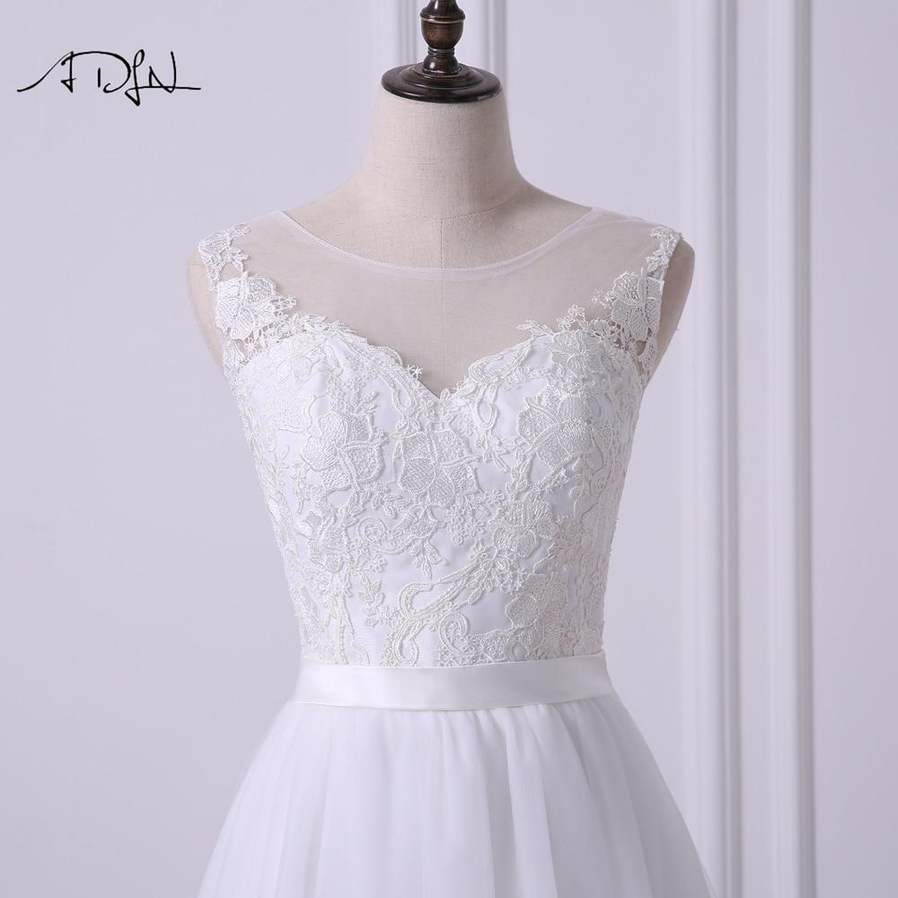 ADLN Scoop Αμάνικο φόρεμα Νέο A-line Γάμος - Γαμήλια φορέματα - Φωτογραφία 5