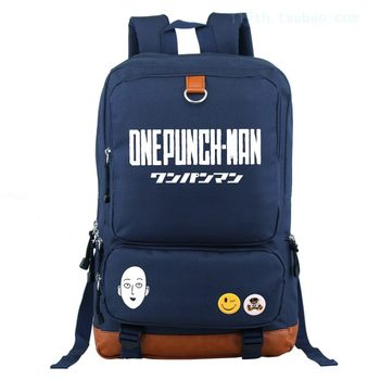 Anime ONE PUNCH-MAN Cosplay Male and female students backpack bag computer bag backpack birthday gift 1