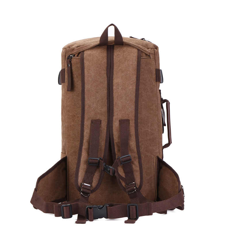 M124, bolsos de viaje para hombre, gran capacidad, para mujer, equipaje, lona, lona, bolso de viaje, mochilas, mochila, bolso de fin de semana, nuevo