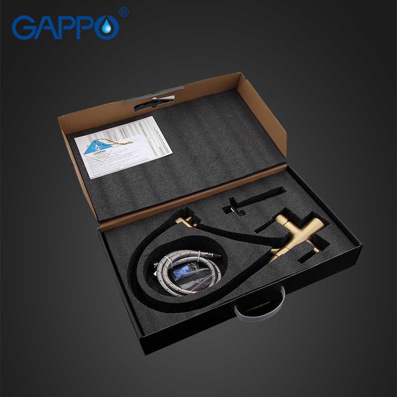 GAPPO кухонный кран черный латунный кухонный кран для раковины кран для кухонного фильтра смесительный кран очищенная вода кран torneira