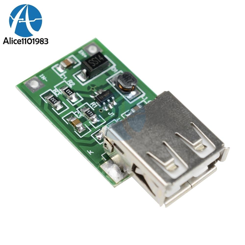 5 stücke Hohe Effizienz 0,9 v-5 v 600MA USB Ausgang Boost Konverter Mini DC-DC Step Up Power Module lithium-Batterie Ladegerät Bord