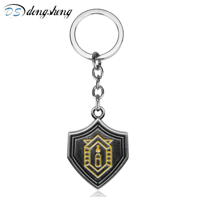 dongsheng Fashion Tokyo Ghoul Kaneki Ken Keychain Horror Anime Jewelry Keyring Key Chains Cosplay Car Key Ring Chaveiro for Mens
