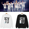 Kpop live tour newcomer got7 fly seoul same we are going to hate fly or hooded collar print plus size mark jackson jr hooded jb
