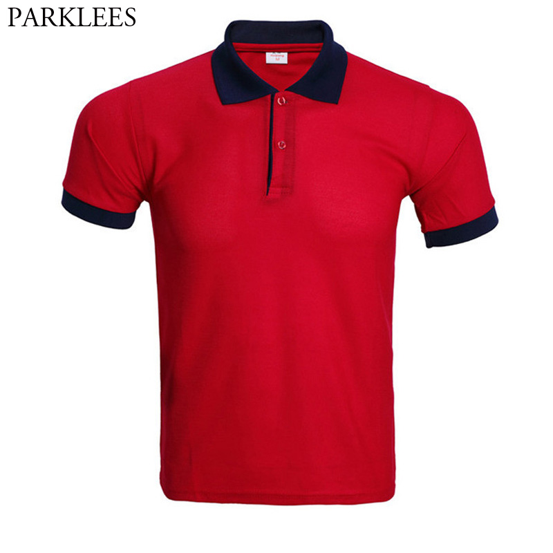 Fashion Solid Color   Polo   Shirt Men Camisa   Polo   Masculina 2017 Brand New Slim Fit Short Sleeve   Polo   Shirts Casual   Polos   Hombre