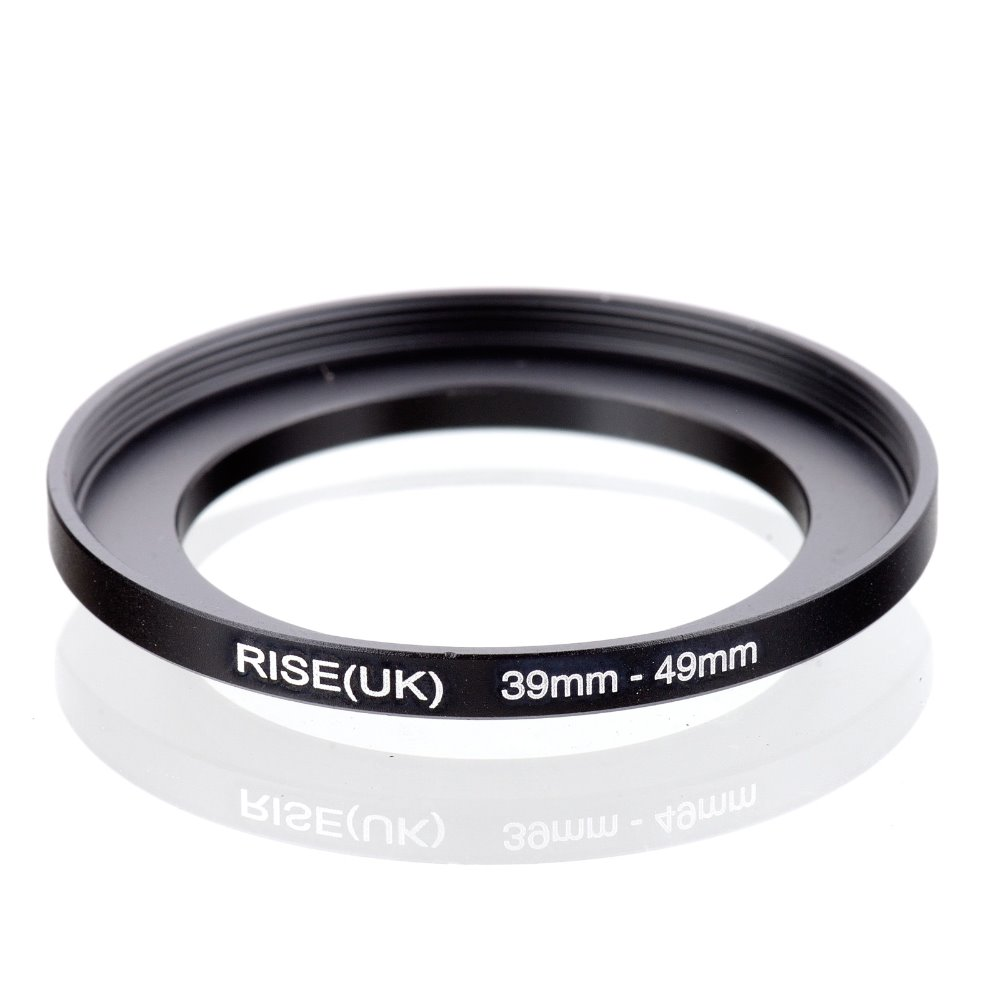 Original RISE(UK) 39mm-49mm 39-49mm 39 To 49 Step Up Ring Filter Adapter Black
