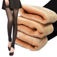 Spring Winter Thin Velvet Warm Leggings Slim Fitness Sport Pants New 2016 Double Layer High Quality