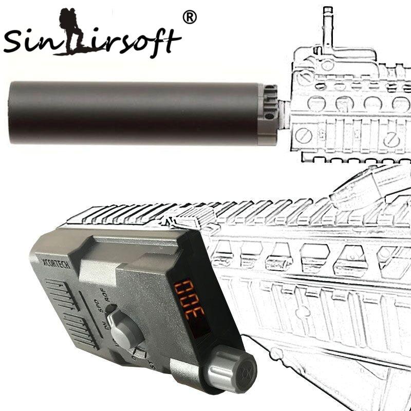 SINAIRSOFT Tático X3300 MK3 Bala Bola XCORTECH Tiro Chronograph Speed Controle Avançado BB Airsoft Paintball Jogo de Combate