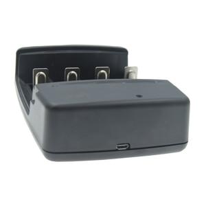 Image 5 - 4 slots smart usb carregador de bateria para recarregável 1.6v NI ZN aa aaa 3.2v lifepo4 32650 18650 14500 carregador de bateria