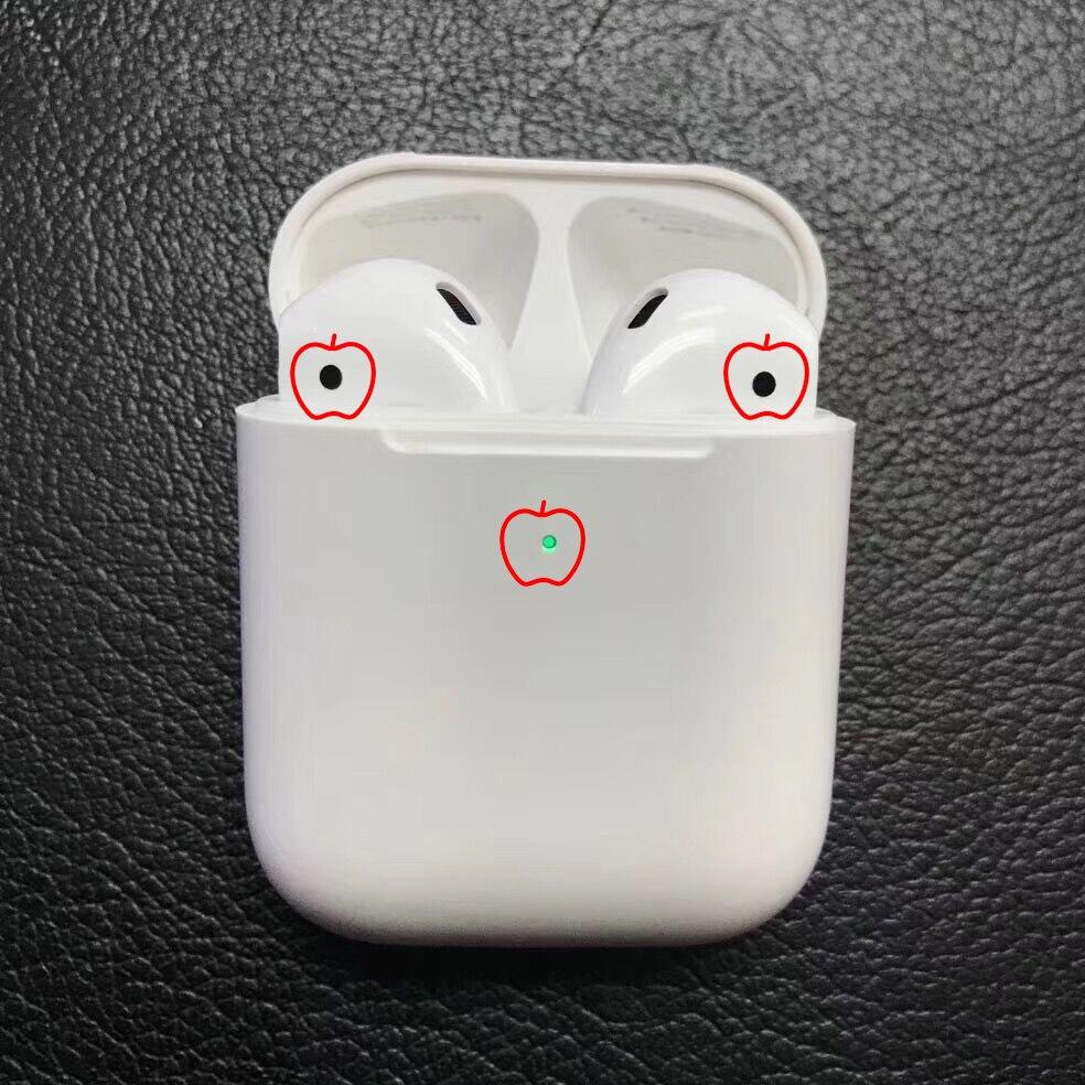 Nouveau 1:1 Copie pour Air 2 gousses Sans Fil Bluetooth Écouteurs 5.0 super basse Pop-up Boîte De Charge Pour iPhone arpods aipods irpods