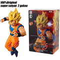 100%Original Dragon B Z SC6 Jump super saiyan 2 Goku anime cartoon action & toy figures  gokou model toy KEN HU STORE